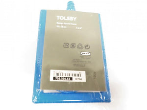 Ikea Tolsby Blue Plastic Two-Sided Picture Frame