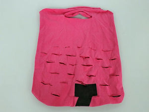 Upcycled Pink Reusable Produce Bag