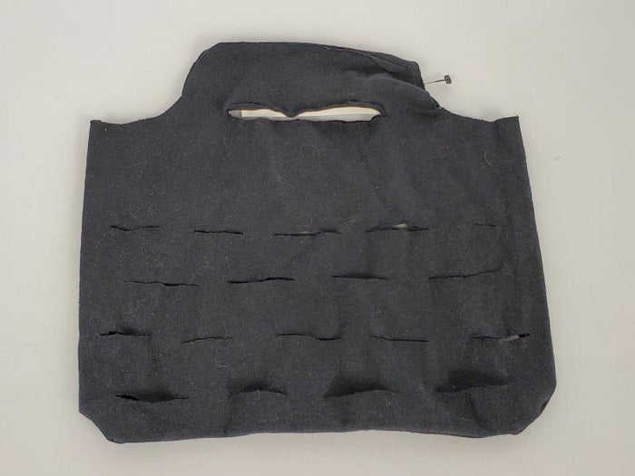 Upcycled Black Short Reusable Produce Bag