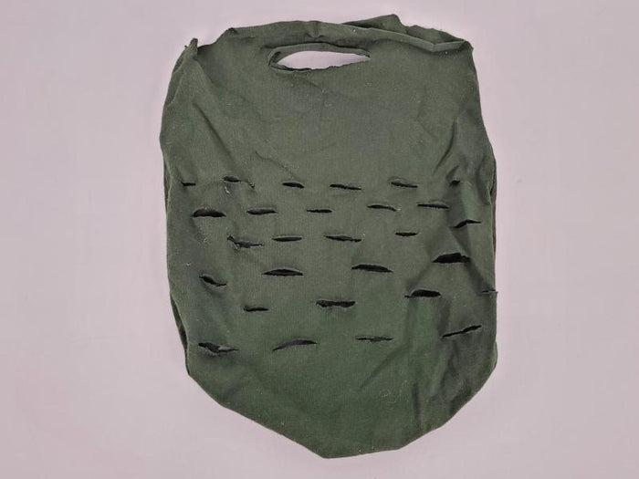 Upcycled Dark Green Reusable Produce Bag