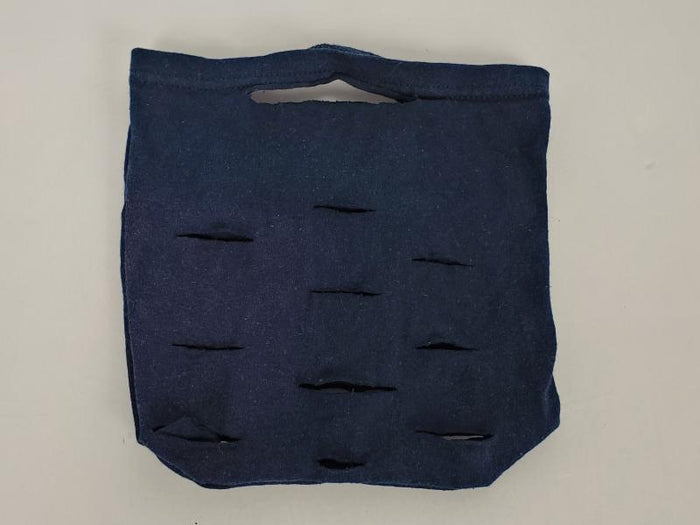 Upcycled Dark Blue Reusable Produce Bag
