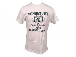 Nike White Michigan State Lady Spartans 2015 Football Clinic T-Shirt Unisex Size XL