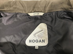 Hogan Olive Green Lightweight Jacket Men's Size XXL Slim Fit