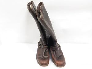 Uggs Brown Leather Channing Kneehigh Boot Women's Size 8.5