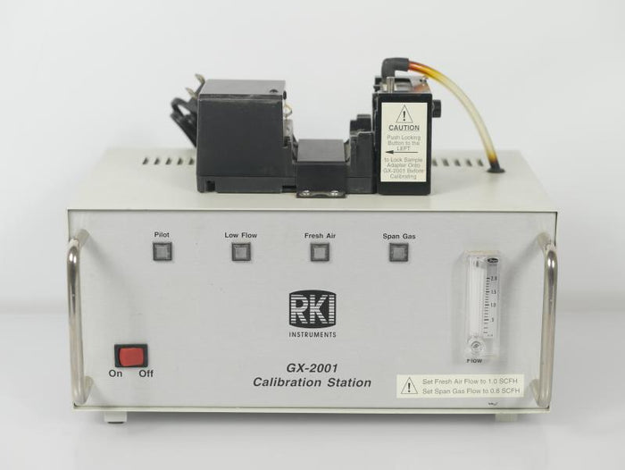 RKI GX-2001 Calibration Station with Charger *Rare*