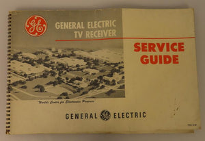 General Electric TV Receiver Service Guide (1st Edition) -- Vintage TVs, 1940's - 1950's