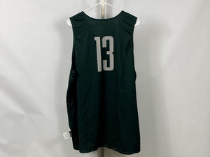 Authentic Nike ELITE MSU Men's Basketball Practice Jersey Green #13 Size XL +2L