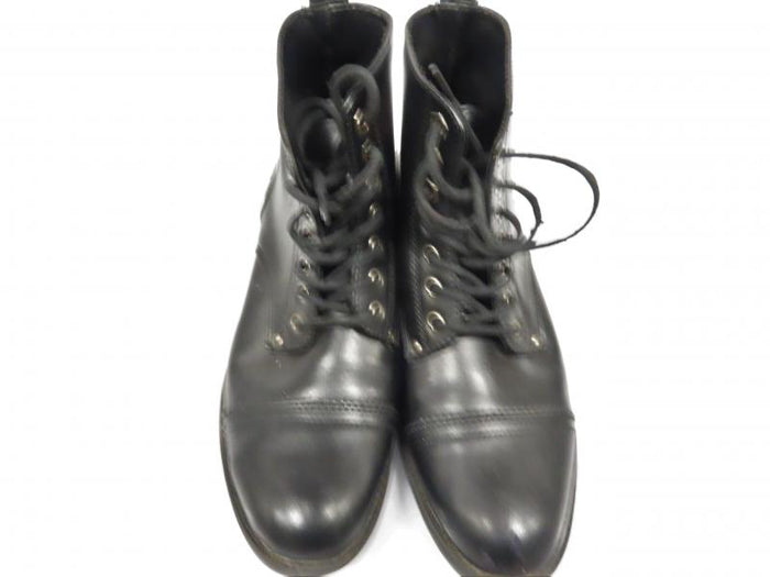 Max David Black Classic Lace-Up Ankle Boot Men's Size 8