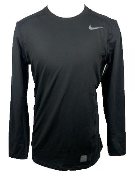 Nike Black Pro Long Sleeve Shirt Men's Size M