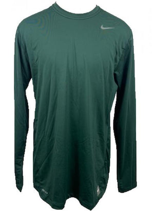 Nike Green Pro Long Sleeve Shirt Men's Size XLT