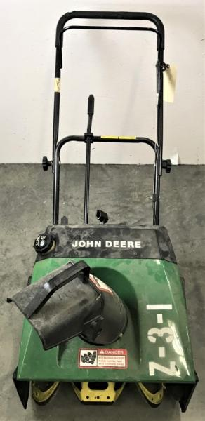 John Deere TRS21 Snowblower *Untested*