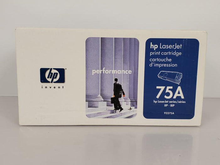 HP 75A 92275A Black Toner Cartridge NEW