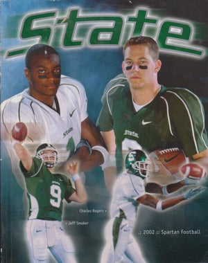 Michigan State Football Media Guide (2002)