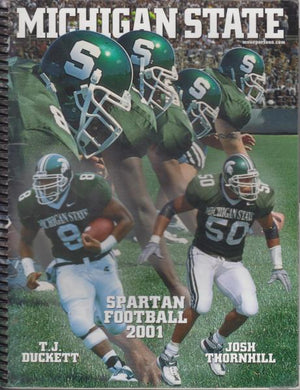 Michigan State Football Media Guide (2001)