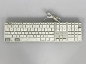 Apple A1243 Numeric Wired USB Aluminum Keyboard *Missing Keys*