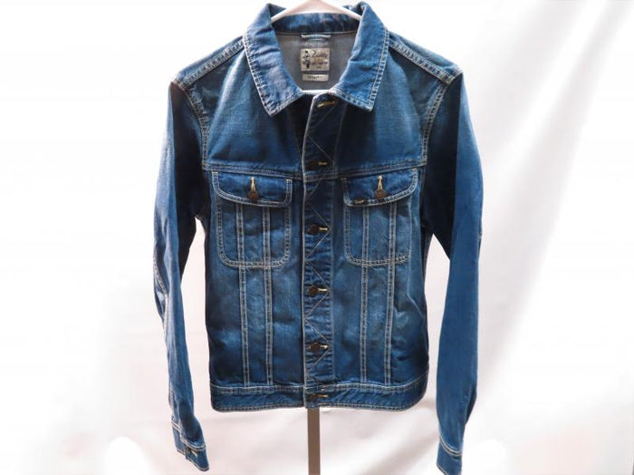 Lee Buddy Lucky Rooster Cropped Jean Jacket Young Miss Size L