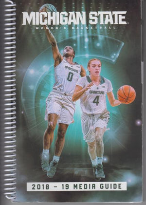 Michigan State Women's Basketball 2018-2019 Media Guide (2018)