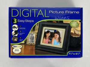 Smartparts Inc. Black Digital Picture Frame