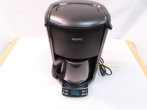 Krups Black 12-Cup Programmable Coffee Maker