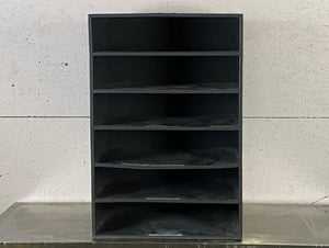 Grey Metal 6-Shelf Organizer