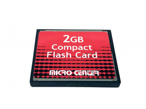 Compact Flash Card 2GB