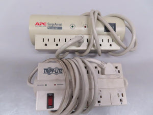 APC or Tripp-Lite 7-Plug Surge Protecter Power Strip