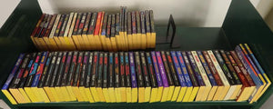 Lot of 72 Star Trek, TNG, Voyager, and Deep Space Nine Paperbacks