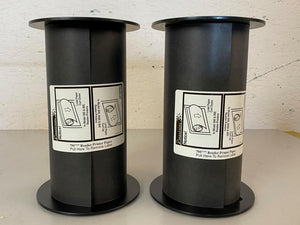 Pair of Imation Black 795-Type Reader Printer Paper Roll
