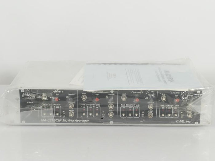 Vintage CWE Inc. 4-Channel Moving Averager MA-821/RSP