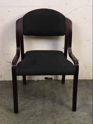 KFI Black & Brown Chair