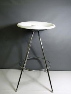 Allermuir JoJo Grey/White Stool A596