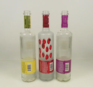 Three Olives Empty 750 mL Bottle