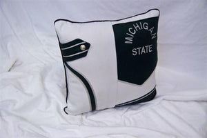 Spartan Marching Band Pillow Green MSU #3
