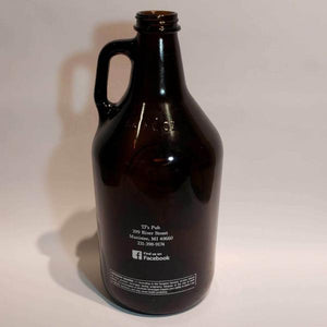 The Ramsdell Inn and TJ's Pub Empty 64 Ounce Brown Beer Growler