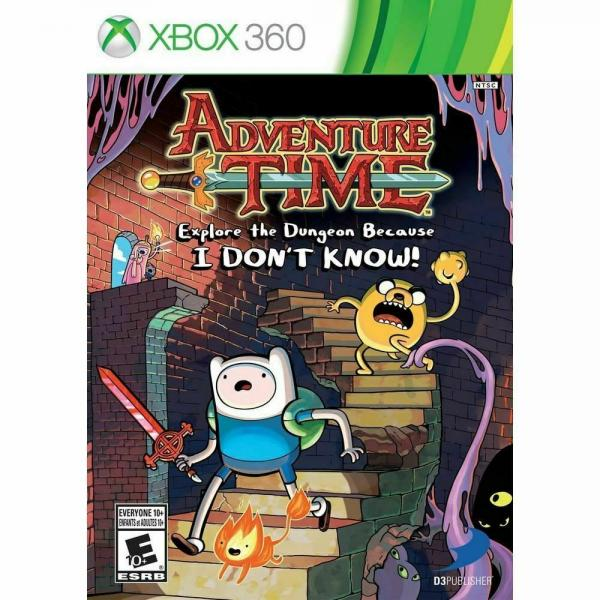 XBOX 360 Adventure Time: Explore the Dungeon Because I Don't Know