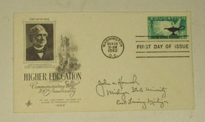 John A. Hannah First Day of Issue Replica Post Card Envelope