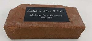 Justin S. Morrill Hall 1900-2013 Commemorative Brick