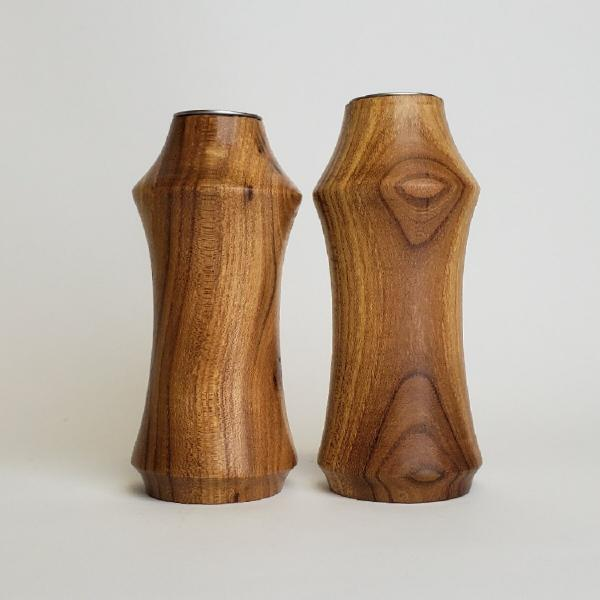 MSU Shadows Siberian Elm Salt and Pepper Shaker Set 1