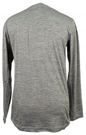 Nike Light Gray Dri-Fit Long Sleeve T-Shirt Men's Size S