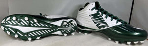 Nike Vapor Speed 3/4 Green/White Football Cleats