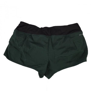 Nike Green and Black Dri-Fit Running Shorts Womens