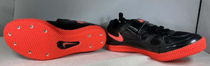Nike Zoom HJ 3 Black/Atomic Red Track Shoes