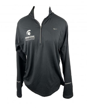 Nike MSU Track & Field/Cross Country Black 1/4 Zip Women's