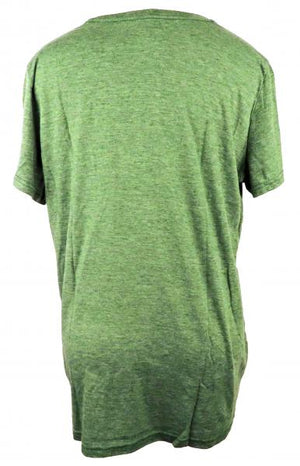 Nike Light Green Dri-Fit V-Neck Short Sleeve T-Shirt Women's Size XL