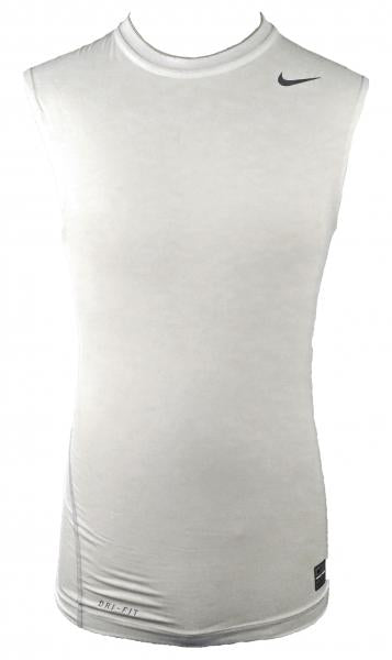 Nike White Dri-Fit Compression Tank Top Men's Size M