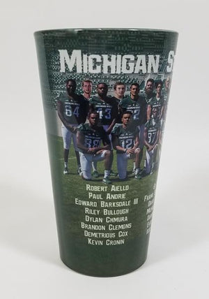 Michigan State Football 2016 Seniors Glasses