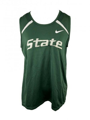 MSU Nike Green Basketball Jersey Women's