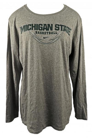 Nike Gray Dri-Fit Long Sleeve T-Shirt Women's Size XL