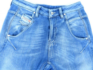 Diesel V Denim Tayza Blue Jeans Young Miss Size 12