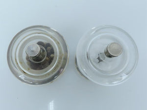 Olde Thompson Acrylic Salt and Pepper Grinders Set of 2